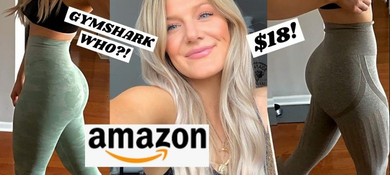 THE BEST AMAZON LEGGINGS FOR CHEAP...I'm obsessed!