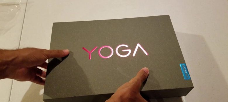 Unboxing the Brand New Lenovo YOGA 920 2-in-1 Laptop