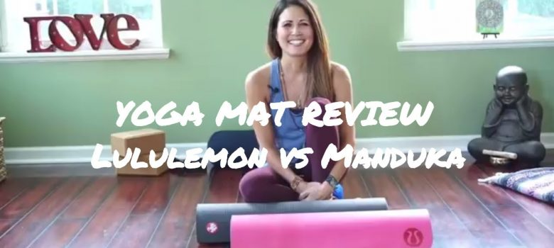 WHAT IS THE STICKIEST YOGA MAT?  Manduka vs Lululemon