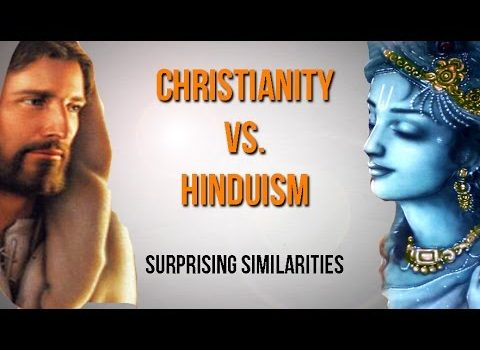 Christianity vs. Hinduism, Surprising Similarities.