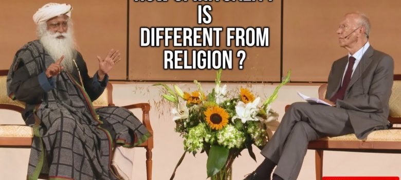 Difference Between Spirituality And Religion ? - Sadhguru at United Nations