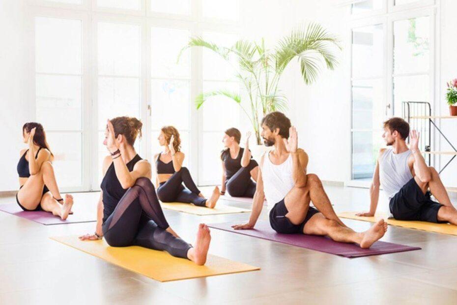 Yoga Studio Mind And Body